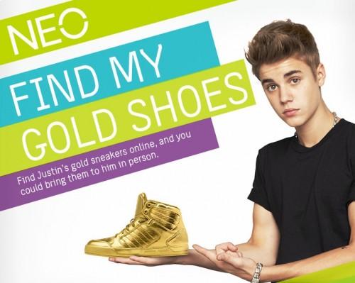 Chaussure Adidas Neo Justin Bieber