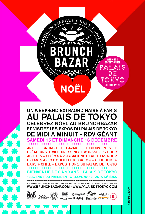brunch bazar, l'affiche