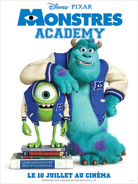 MOnstres Academy (Monsters Academy), Affiche