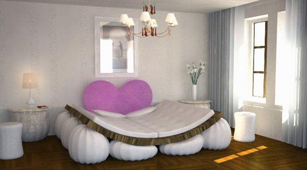 un lit original 34 framboisemood. Black Bedroom Furniture Sets. Home Design Ideas