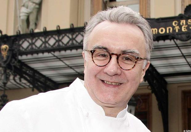 Le chef Alain Ducasse, 56 ans