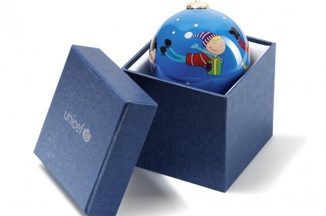 La boule de Noël Unicef – FramboiseMood
