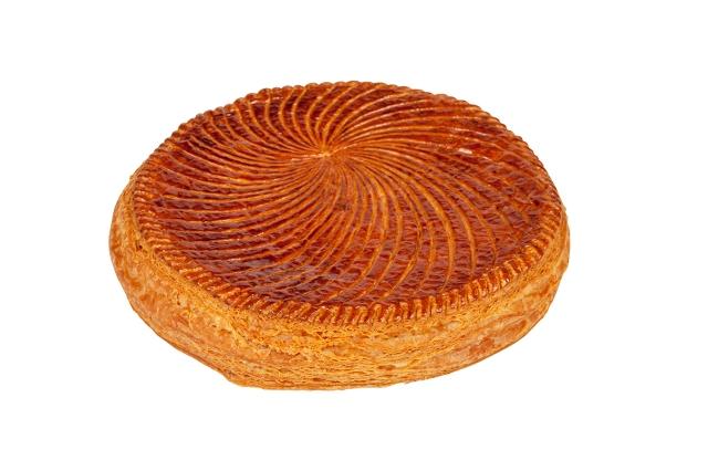 la galette création du jeune Vincent Lemain, chef de la création pâtissière de la Maison Ladurée,