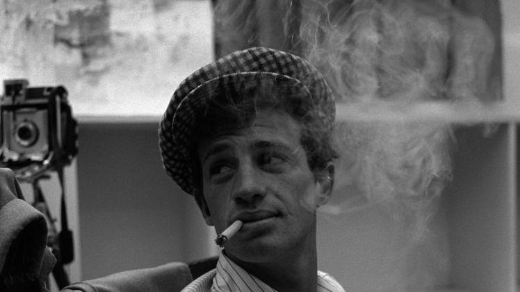 Jean Paul Belmondo dans le film A bout de souffle (1960)