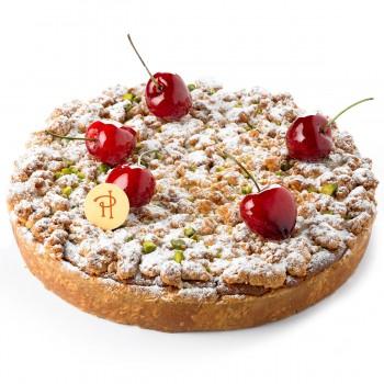 gourmandise la tarte croustillante aux cerises et pistache de herm 233 framboisemood
