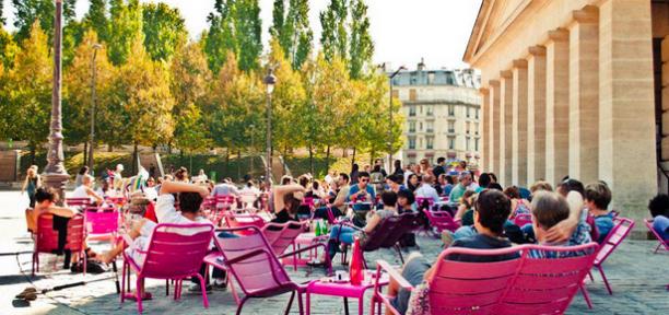 En promenade les terrasses parisiennes suite for Terrasse et cie paris 18