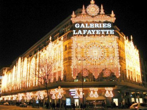 Les Galeries Lafayette - boulevard Haussmann