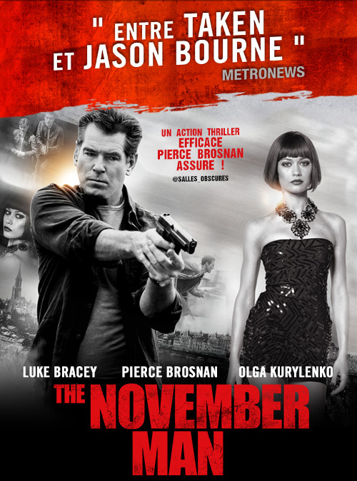 cin233ma the november man l�affiche et la bande annonce