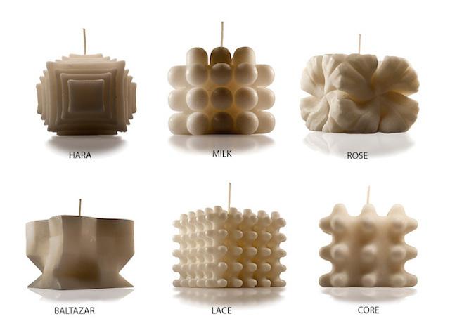 design les jolies bougies de l artiste andrej urem framboisemood. Black Bedroom Furniture Sets. Home Design Ideas