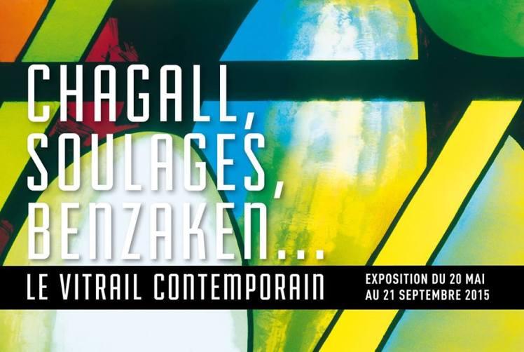 Chagall, Soulages, Benzaken... Le vitrail contemporain