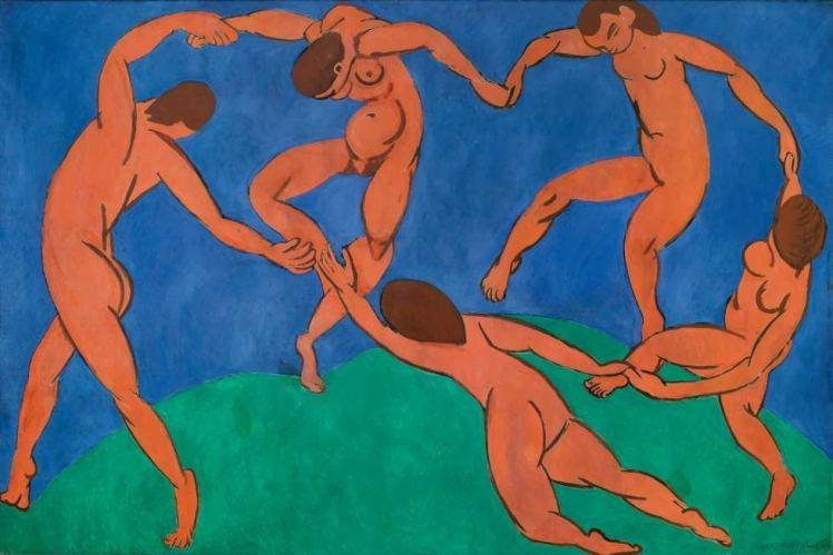 Henri Matisse, La Danse - copyright fondation Louis vuitton