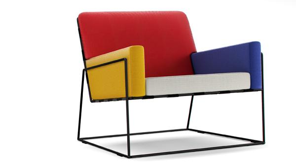 design charles chair de marcel wanders framboisemood. Black Bedroom Furniture Sets. Home Design Ideas