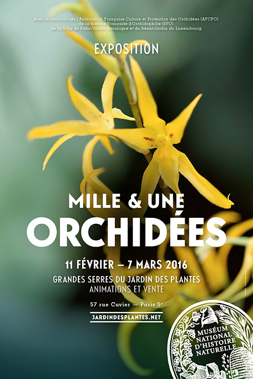 Exposition : Exposition Mille & une orchidées 2016 au Jardin des ...