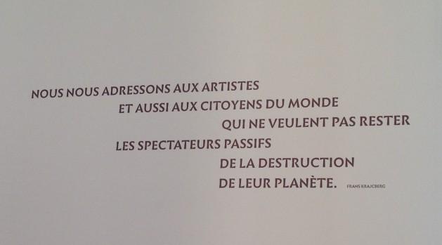 Frans Krajcberg, Un artiste en résistance Au Musée de l'Homme