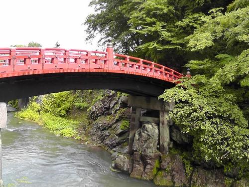 le pont sacré Shinkyô nikko japon