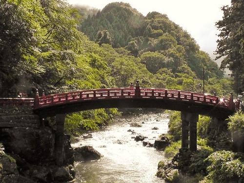 le pont sacré de Nikko japon