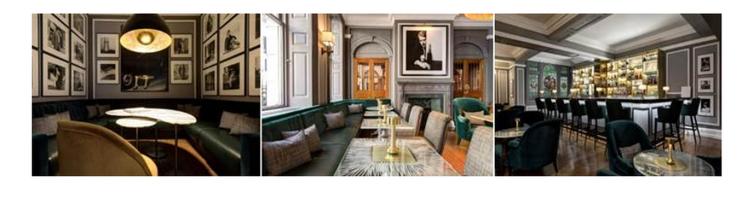 rocco hotels (Copier).pngL'emblématique Brown's Hotel à Londres, un établissement Rocco Forte, dévoile le nouveau Donovan Bar, fraichement rénové