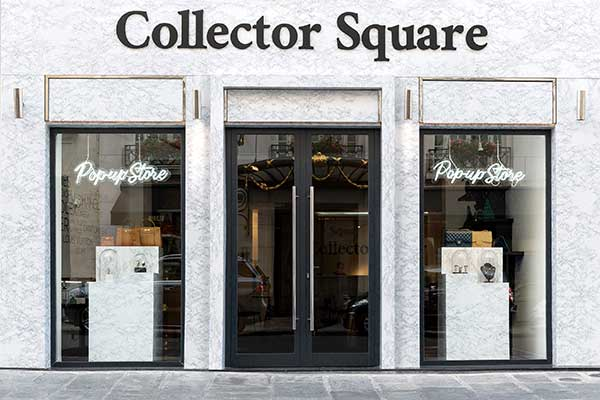 Collector Square ouvre un pop store